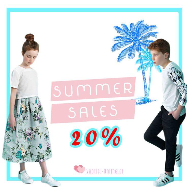 Summer Sales!!! Ξεκινήσαμε !!! Οι καλύτερες τιμές στα Κορυφαία Brands  Προλάβετε τα εδώ: http://www.vaptisi-online.gr