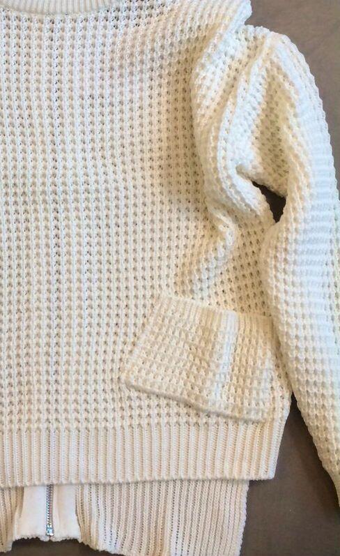 Witte trui