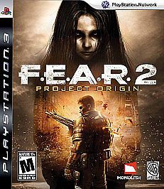 F.E.A.R. 2: Project Origin (Sony Playstation 3 2009) - Game Used Good Condition