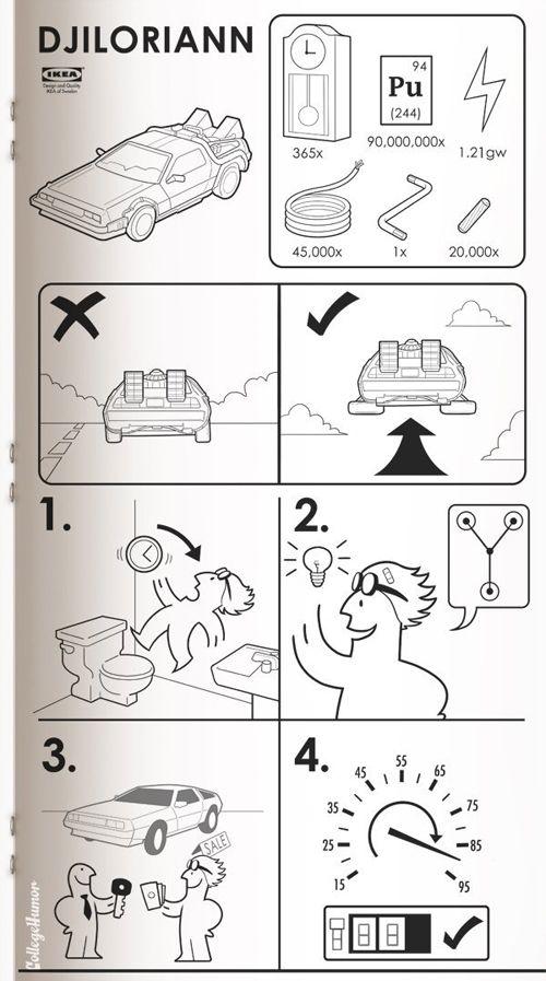 Sci-fi Ikeas Manuals ©Caldwell Tanner, Susanna Wolff & Conor McKeon, College Humor