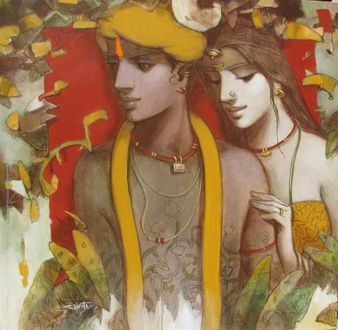 Although Srimati Radharani developed a deep loving affection for Krsna, she hid her attitude in the core of her heart so that others could not detect her actual condition. NECTAR OF DEVOTION, p. 258