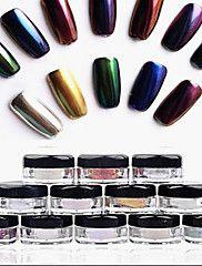 12+Neglekunst+Dekoration+Rhinsten+Perler+Makeup+Kosmetik+Neglekunst+Design+–+DKK+kr.+1.948