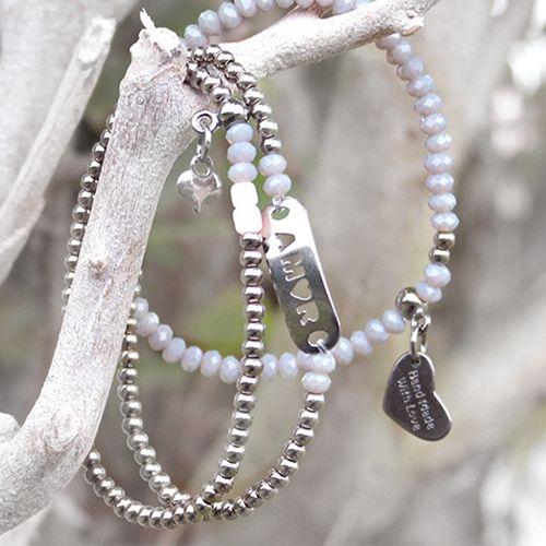 Mooie herfst sieraden met nieuwe DQ metalen onderdelen in zilver antraciet