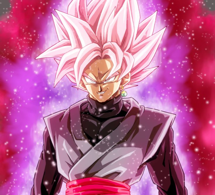 GOKU BLACK SUPER SAIYAJIN ROSE