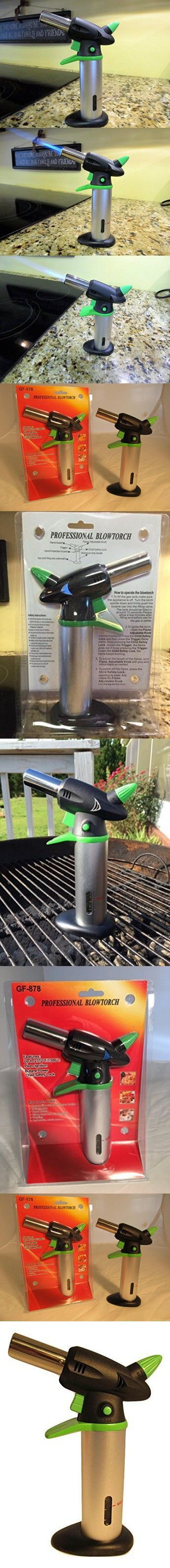 Culinary Blow Torch Lime Green/black Kitchen Tool For Creme Brulee, BBQ,  Welding