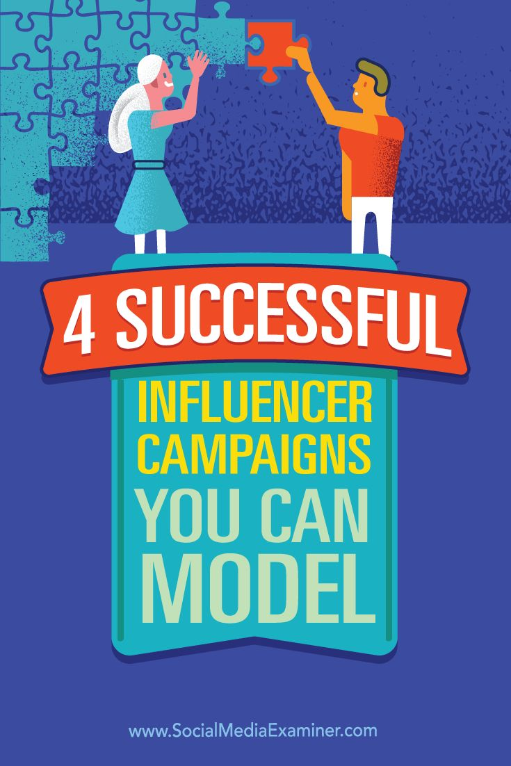 Do you want to improve awareness for your business?  Working with influencers to promote your product or service to their audience is an effective way to meet your marketing objectives.  In this article, you'll find four influencer marketing examples and ways to connect with influencers. Via @smexaminer.