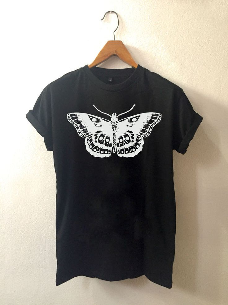 Harry Styles Tattoo Butterfly One direction t shirt Clothing 100% cotton unisex #unbrand #CrewNeck