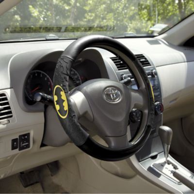 This Batman steering wheel cover can convert any vehicle into the Batmobile - honestly!!