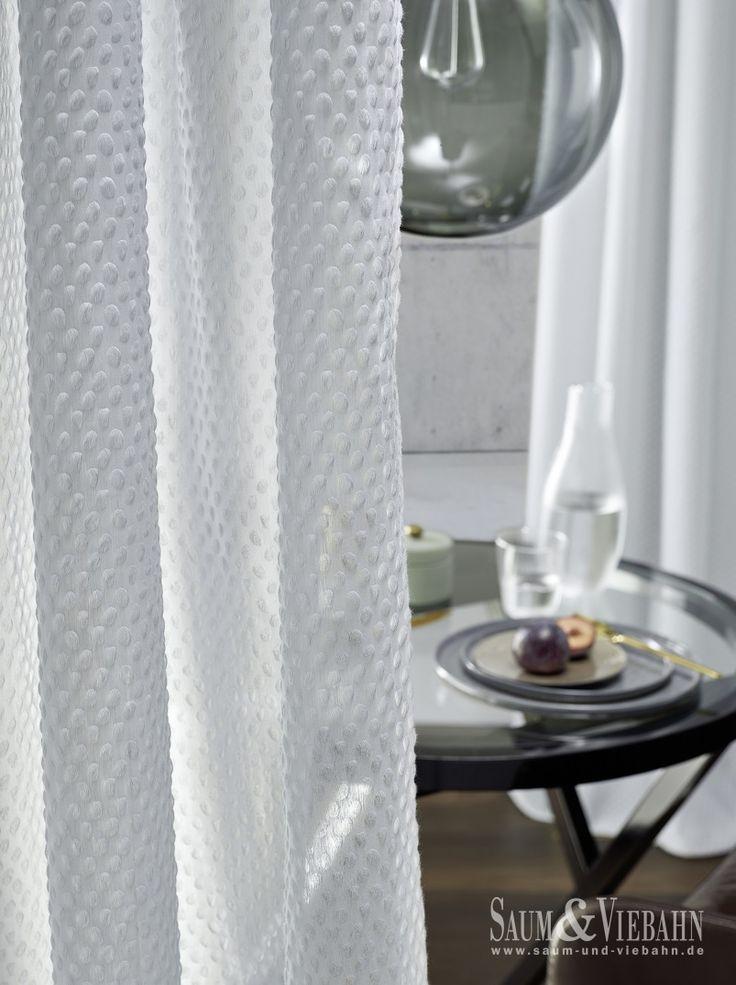 NIOB de SAUM: Visillo de #Trevira. #ignifugo #ignifug #ontariofabrics #saumundviebahn
