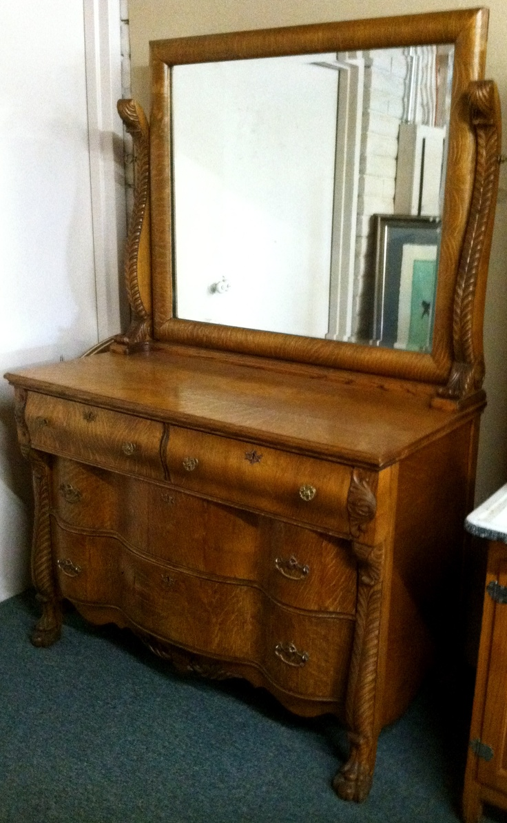 Antique Dresser and Mirror This is a beautiful antique dresser and mirror  from the mid 1800's - 8 Best Antique Furniture At IConsign Stores Images On Pinterest