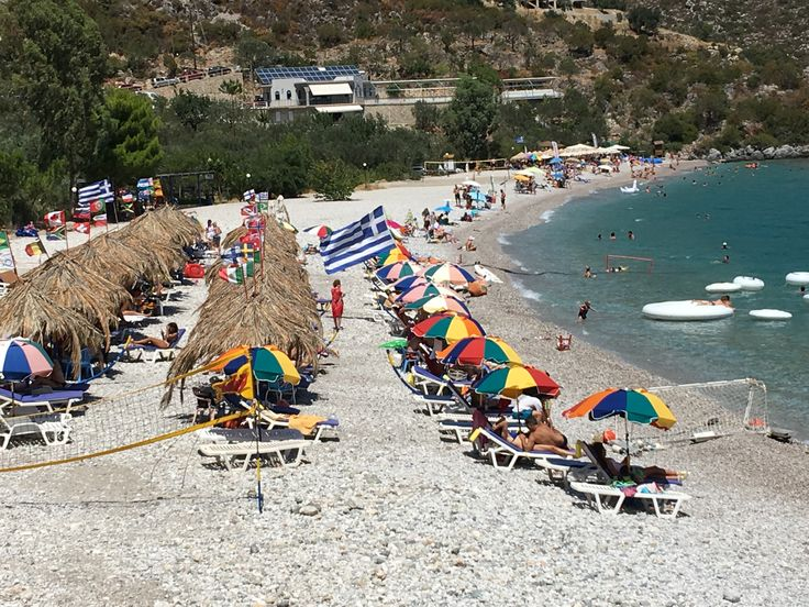 Tigani Beach, Tyros Arkadias, Greece