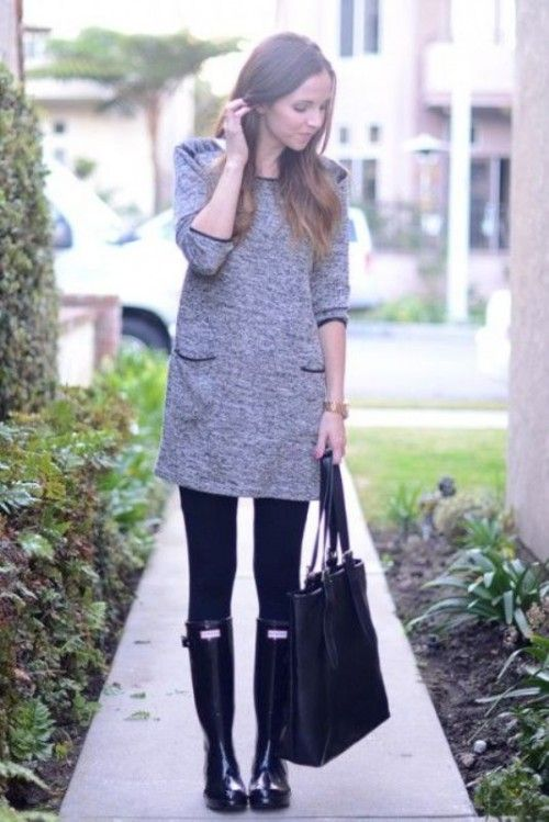 15 Chic Ways To Wear Rain Boots This Fall | Styleoholic