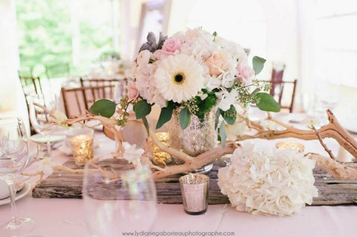 Old wood centerpieces by 5ssens