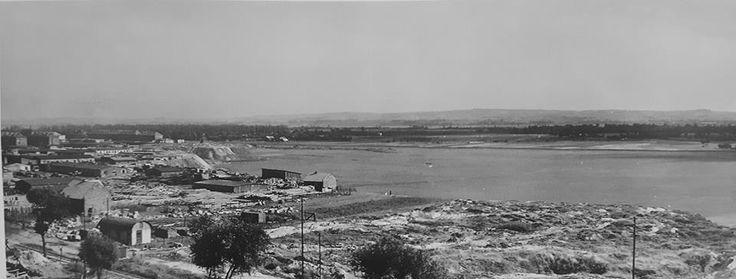 Panorama łąk, lata 50.