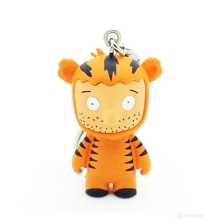 Bob's Burgers Blind Box Keychain Series by Kidrobot - Teddy in Tiger Suit