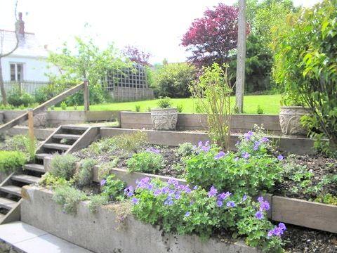 Garden Ideas On Two Levels 38 best garden ideas images on pinterest | garden ideas, patio