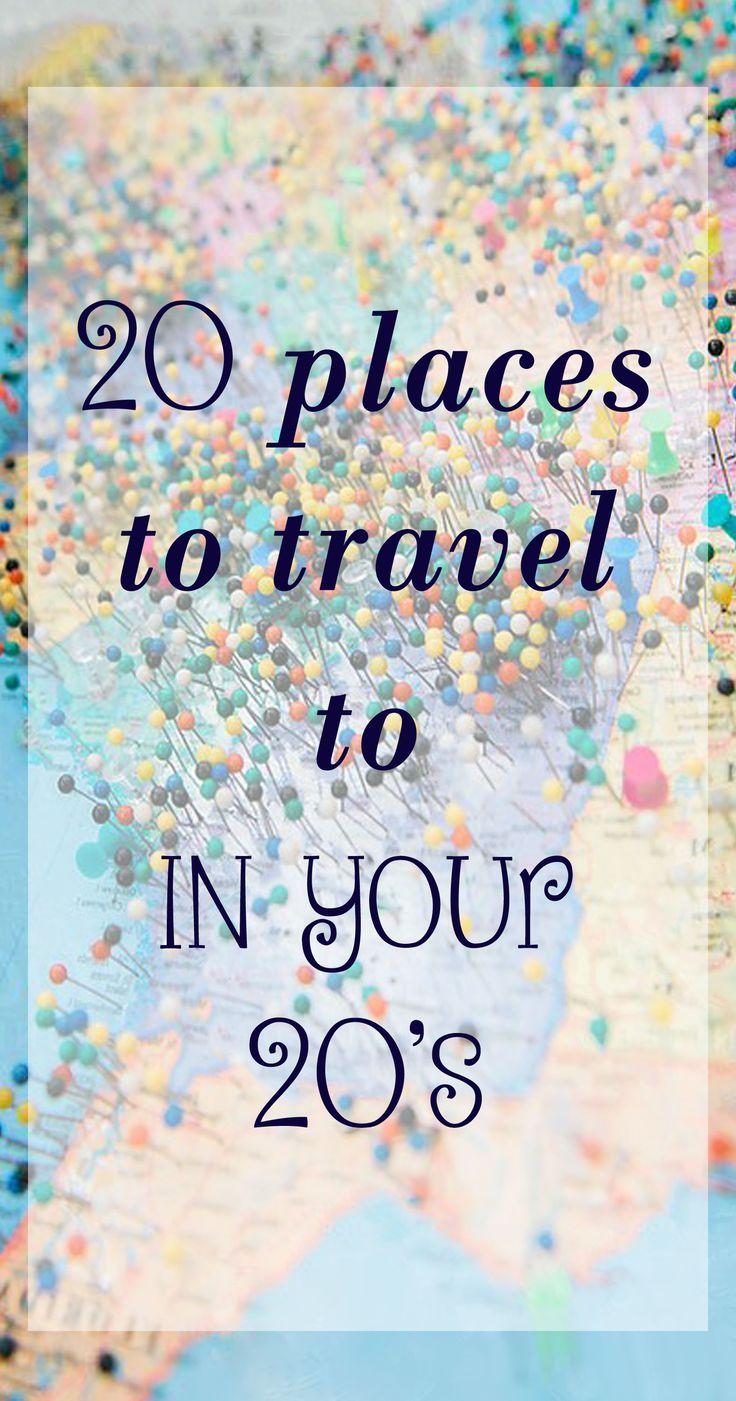 20 Orte, in denen Sie in den 20er Jahren reisen können