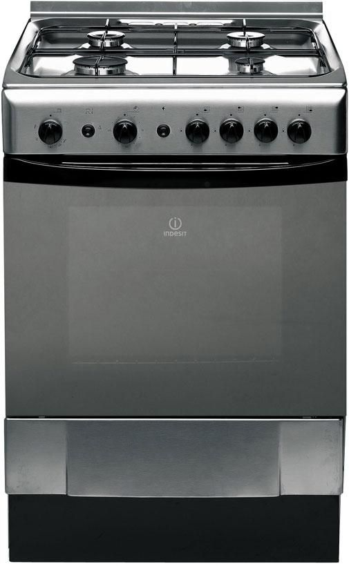 Indesit Freestanding Gas Oven Stainless Steel $1159.99 from Noel Leeming
