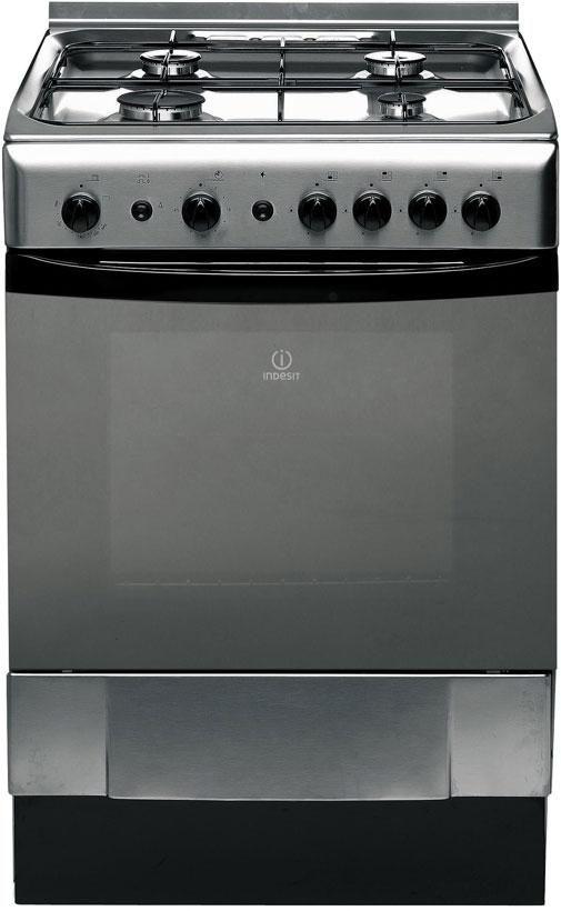 Indesit Freestanding Gas Oven Stainless Steel $1159.99 from Noel Leeming