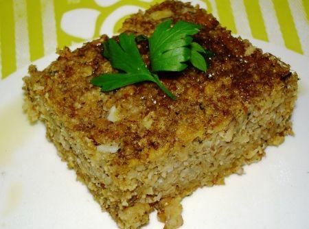 Receita de Kibe Assado Vegetariano - kibe de molho por 20 minutos. Enquanto isso, prepare os temperos. Bata todos no liquidificador com o tomate, hortelã e o caldo de carne...