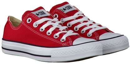 Rode Converse Sneakers OX CORE D