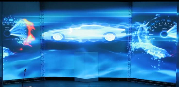 3D mapping шоу, посвящённое 20-летию компании «Тосол-Синтез». #DreamLaser #mapping #lasershow #exclusive #show #installation