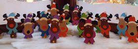 Rudolph, das Rentier! Die letzte Schulwoche im Jahr 2014 ist da! WOW! Kaum zu glauben, aber wahr :). Auch in diesem Jahr möchte ich m...