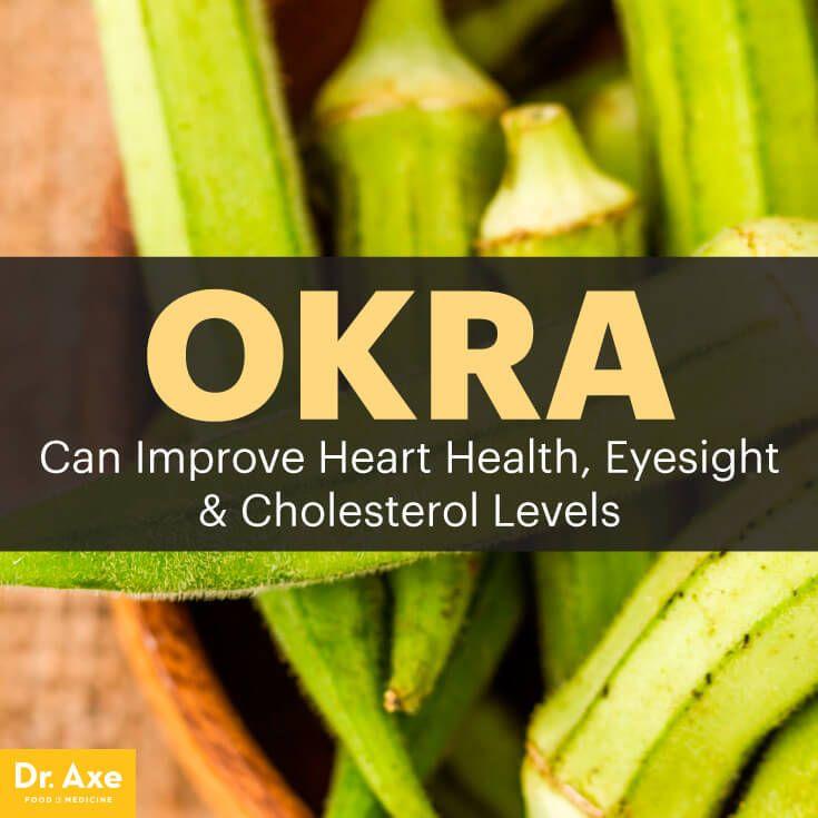 Okra Nutrition:Improve Heart Health, Eyesight & Cholesterol Levels - Dr. Axe