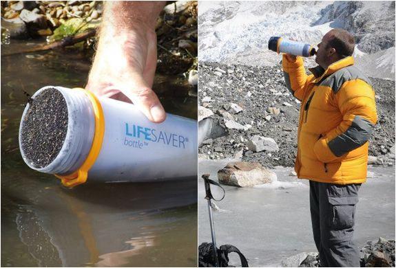 LIFESAVER BOTTLE | PORTABLE WATER FILTER