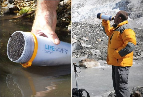 LIFESAVER BOTTLE   PORTABLE WATER FILTER
