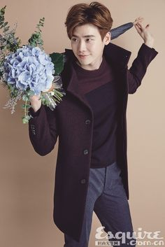 [Oct. 25, 2015] Lee Jong Suk for MVIO Source: Esquire  Article