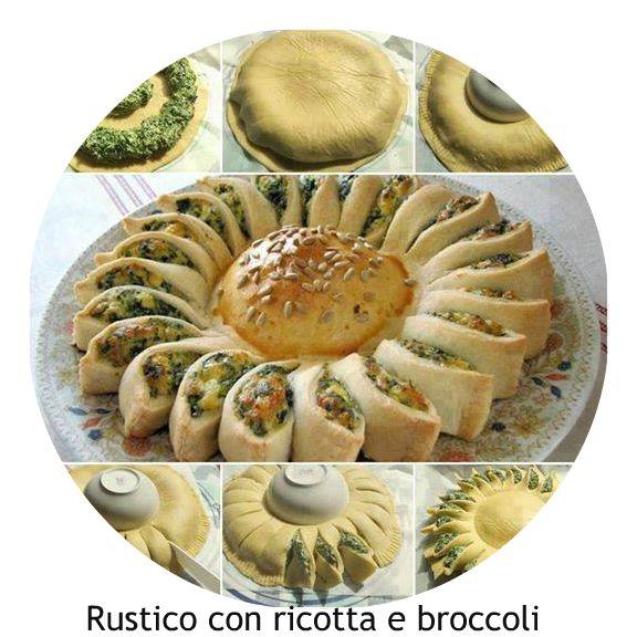 Ingredienti2 rotoli di pasta sfoglia rotondi (io ho usato quella integrale) 600 g di broccoli 250 g di ricotta 50 g di parmigiano grattug...