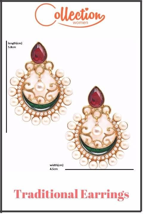Traditional Earrings [http://bit.ly/2rmlJpk?utm_content=buffera35e5&utm_medium=social&utm_source=pinterest.com&utm_campaign=buffer] For Wedding Exclusive Collection Available Only on Collectionwomen.com  Click On This Link [http://bit.ly/2rmlJpk?utm_content=buffera35e5&utm_medium=social&utm_source=pinterest.com&utm_campaign=buffer] #traditionalearrings #earrings #womenjewelry #womenearrings #girlearrings