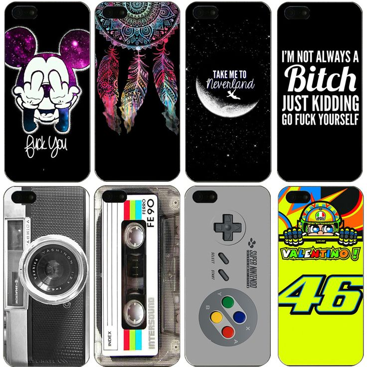 5/5S SE 4'' New Painting Vintage Cameras Tape Hard Phone Cases Cover For Apple iPhone 5 5S iPhone SE Case Capa Coque