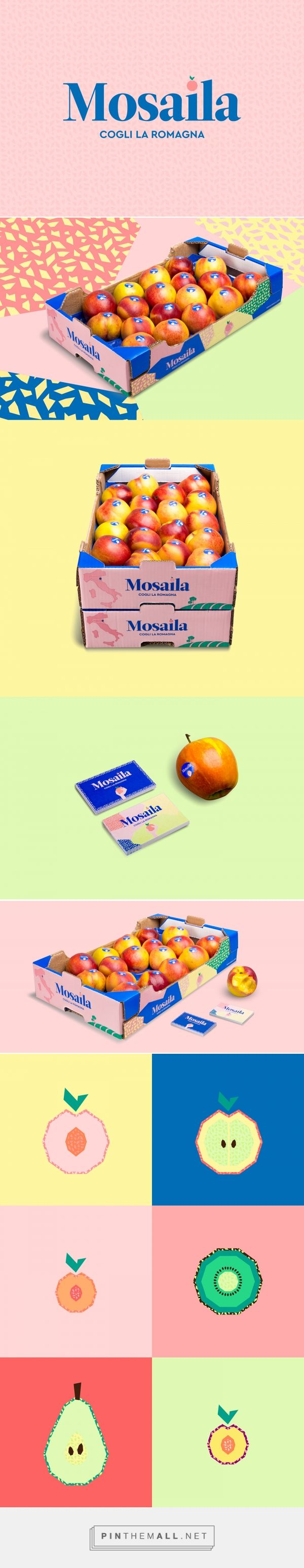 Mosaila Seasonal Fruit Packaging by Collettivo Mare   Fivestar Branding Agency – Design and Branding Agency & Curated Inspiration Gallery