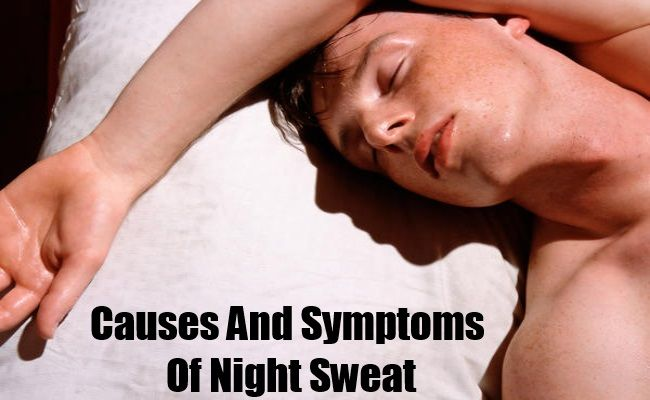 Causes And Symptoms Of Night Sweat