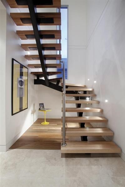 Floating Stair Design