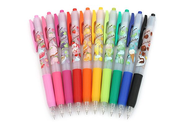 Zebra Limited Edition Sarasa Clip Sweets Party Scented Gel Ink Pens http://www.jetpens.com/Zebra-Sarasa-Clip-Sweets-Party-Scented-Gel-Ink-Pens/ct/1760