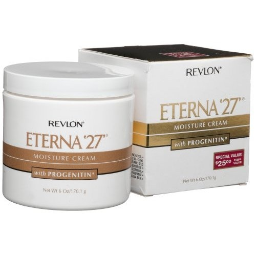 Amazon.com: Revlon Eterna '27 Moisture Cream With Progenitin, 6 Ounce: Beauty