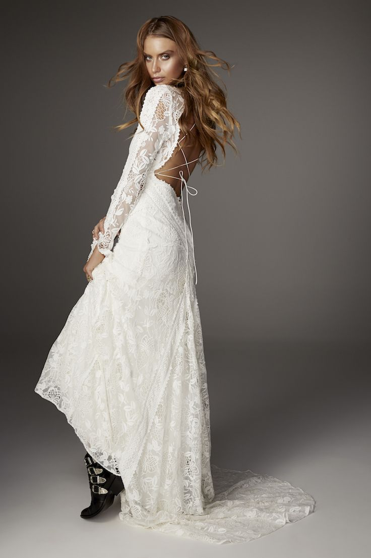 Eclipse gown from Rue De Seine Love Spell Collection. Cotton ...