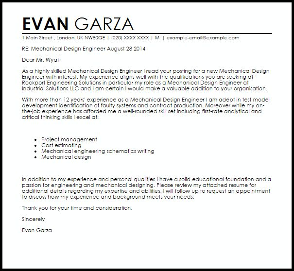Software Developer Cover Letter And Resume Example: Best 20+ Mechanical Engineering Jobs Ideas On Pinterest