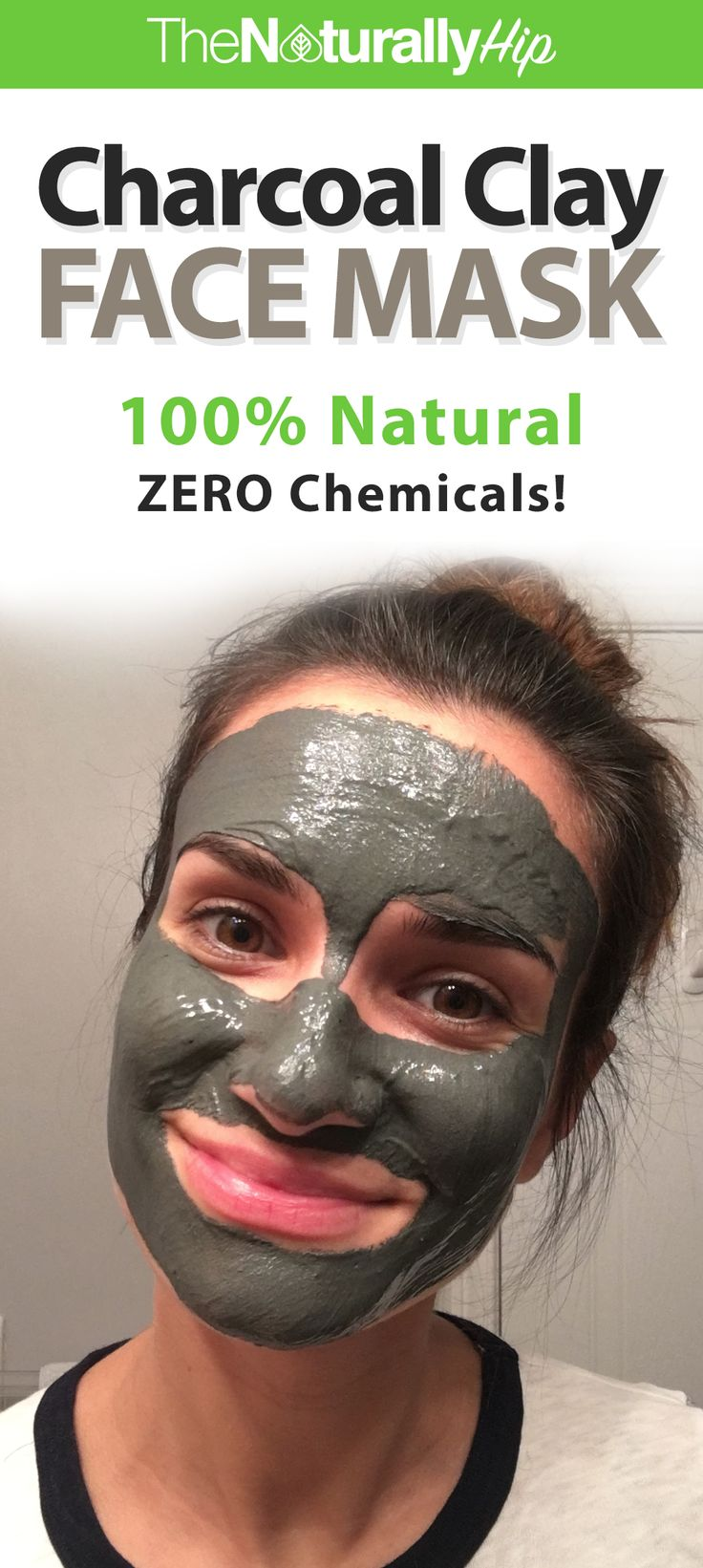 Charcoal Clay Mask | A great mask to help promote clear skin... LOVE THIS!