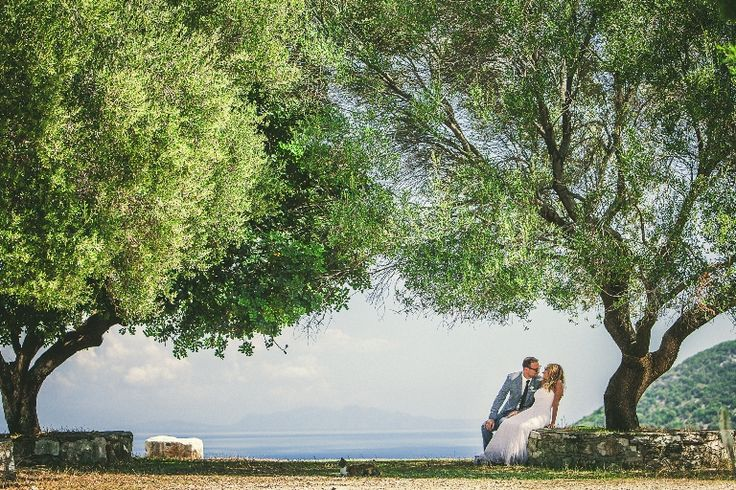 Love the green, love the trees, love each other... Love is everywhere...... #weddingingreece #wedding #photos #mythosweddings #kefalonia