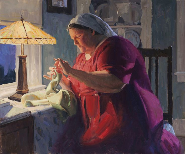 Eric Bowman - Delicate Hands- Oil - Painting entry - September 2013 | BoldBrush Painting Competition