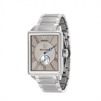 Emporio Armani Meccaniko Grey With Stainless Steel Bracelet AR4207