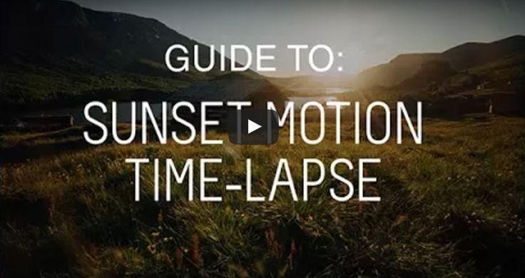 TUTORIAL How to Shoot a Ramping Sunset Motion #Timelapse  https://buff.ly/2vdLHvk?utm_content=buffer68b60&utm_medium=social&utm_source=pinterest.com&utm_campaign=buffer