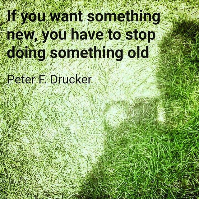 """If you want something new you have to stop doing something old"" (Peter F. Drucker) #badania #rozwoj #research #development #management #project #innowacje #innovations #nauka #quote #motivation #science #startup #startuplife #entepreneur #business #instapic #instagood #grantomat #follow #f4f #smart #vr #iot #application #idea #gamedev #gamer #picoftheday #weekend"