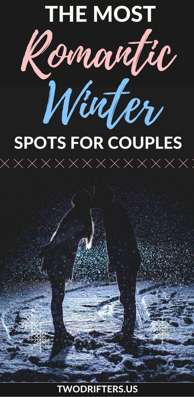 Snowy winter wonderlands, fairytale destinations. Grab your sweetheart, cuddle u…