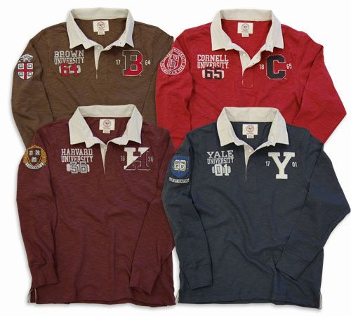 New Ivy League Vintage Scrum Rugby