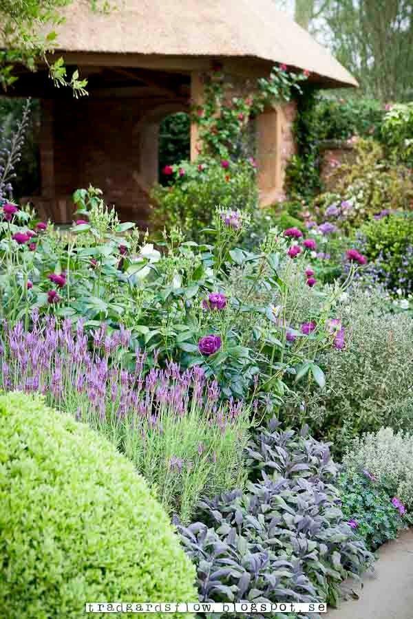 Trädgårdsflow: engelska trädgårdar